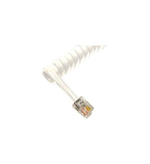 Picture of GCHA444012-FWH / 12' WHITE Handset Cord 1200WH