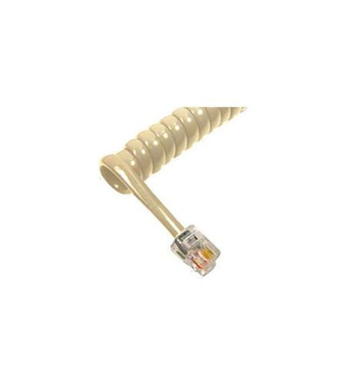 Picture of GCHA444025-FIV / 25' IVORY Handset Cord 2500IV