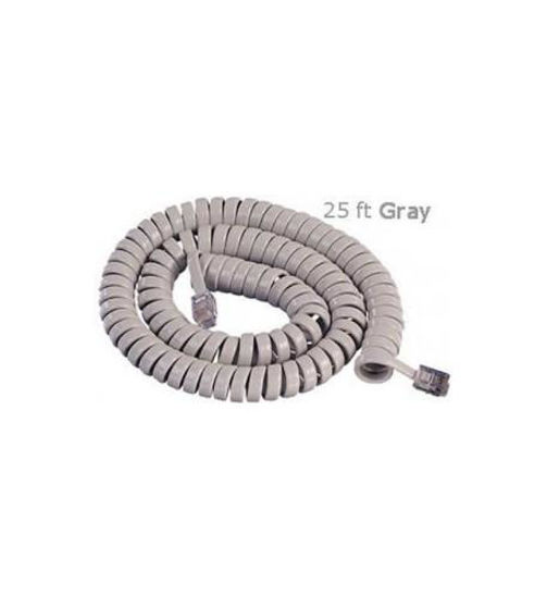 Picture of GCHA444025-FPG 25' PEARL GY Handset Cord 2500PG