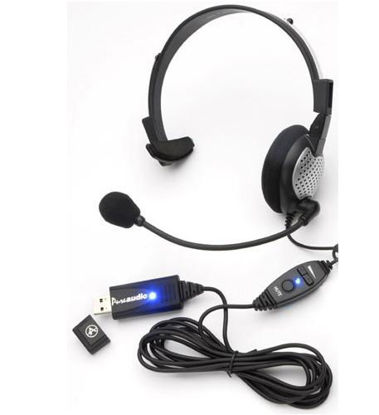Picture of USB High Quality Digital Monural Headset AND-NC181VMUSB