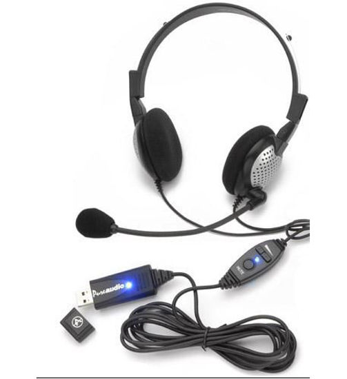 Picture of High Quality Digital Stereo USB Headset AND-NC185VMUSB