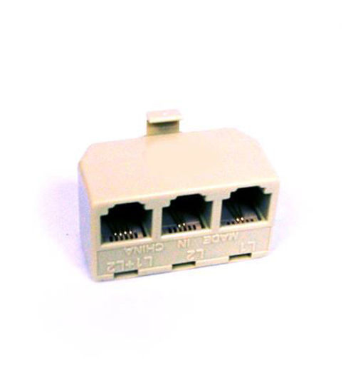 Picture of Triplex Adapter IVORY ATT-89-0075-00