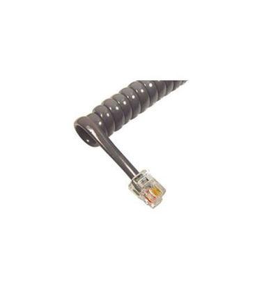 Picture of GCHA444006-FDG/ 6' Med Gray Handset Cord ICC-ICHC406FDG
