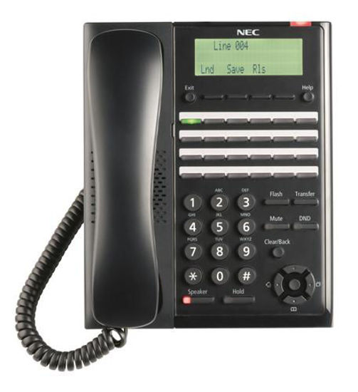 Picture of SL2100 Digital 24-Button Telephone (BK) NEC-BE117452