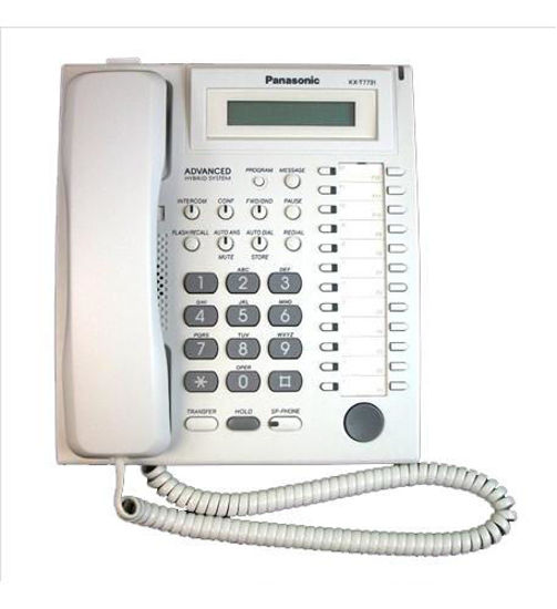 Picture of 24 Button Speakerphone w/ LCD White KX-T7731