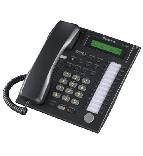 Picture of 24 Button Speakerphone w/ LCD Black KX-T7731-B