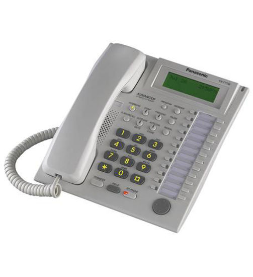 Picture of 24 Button Speakerphone 3 Line LCD White KX-T7736