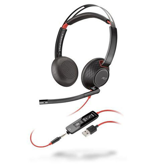 Picture of BLACKWIRE 5220 Headset PL-207576-01