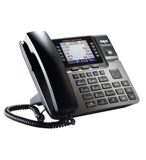 Picture of Unison 4-Line SMB Wireless Desk Phone RCA-U1100