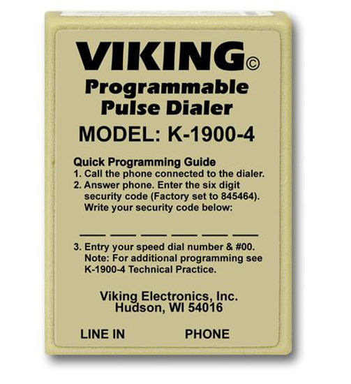Picture of Viking Hot Dialer with Pulse VK-K-1900-4