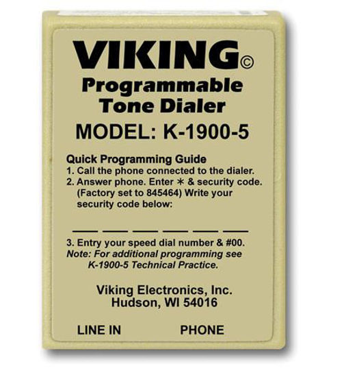 Picture of Viking Hot Dialer with Touch Tone VK-K-1900-5
