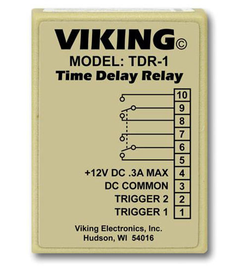 Picture of Viking Time Delay Relay        VK-TDR-1
