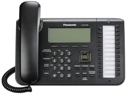 Picture of Refurbished Equipment RB-KX-UT136-B - SIP PHONE OPEN BOX