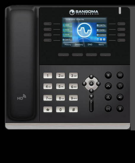 Picture of Sangoma Technologies Inc SGM-S505 - Sangoma S505 Mid Level Phone