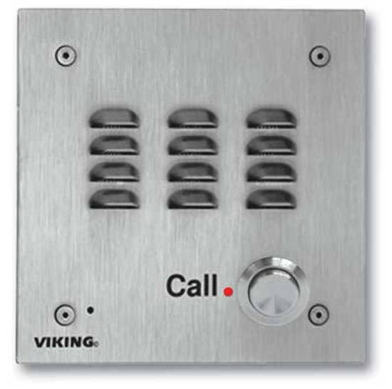 Picture of Viking Electronics E-30-IP - Stainless Steel Handsfree IP Phone
