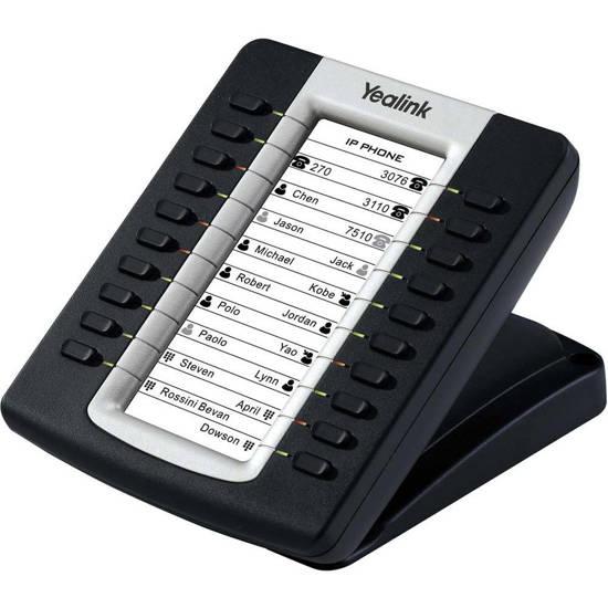 Picture of Yealink EXP39-BK - Yealink IP Phone Expansion Module Black