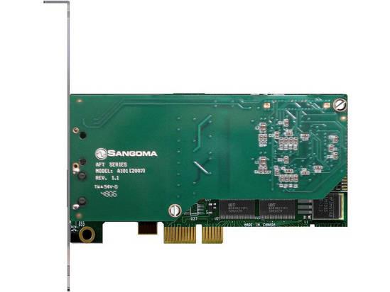 Picture of Sangoma Technologies Inc SGM-A101E - Sangoma A101E 1 port T1-E1-J1 PCI Expres