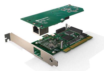 Picture of Sangoma Technologies Inc SGM-A101D - Sangoma 1-Port T1-E1-J1 PCI EC-HW