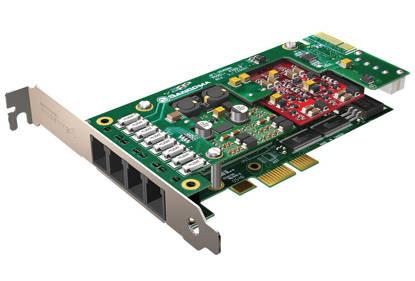 Picture of Sangoma Technologies Inc SGM-A200-A20400E - 8 FXS Analog Card