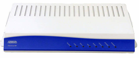 Picture of ADTRAN 4212908L1 - Total Access 908 - T1 network interface