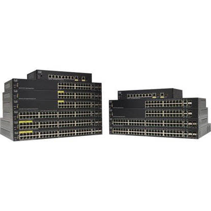 Picture of CISCO SF350-24P-K9-NA - SF350-24P 24PT 10/100 POE MGD SWCH