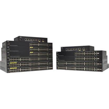 Picture of CISCO SG350-10MP-K9 - SG350-10MP 10PT GIGABIT POE MGD SWCH
