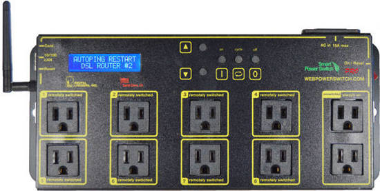 Picture of DIGITAL LOGGERS LPC7-PRO - LPC7 PRO Switch