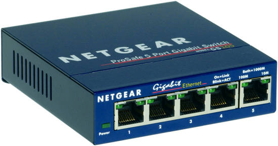Picture of Netgear GS105NA - 5 Port Gigabit Desktop Switch
