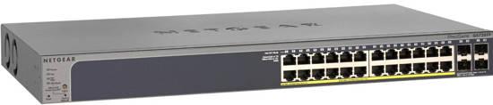 Picture of Netgear GS728TP-200NAS - 24 Port Gigabit Smart Switch POE