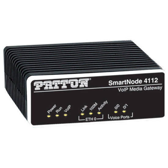 Picture of Patton PAT-SN4112-JS-EUI - SmartNode 2 FXS VoIP Gateway SIP