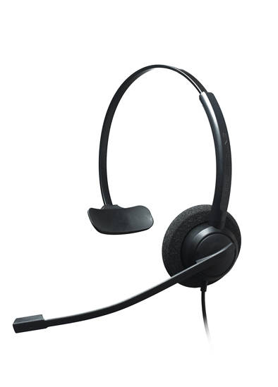 Picture of ADDASOUND CRYSTAL2731 - Single Ear Noise Cancelling Headset