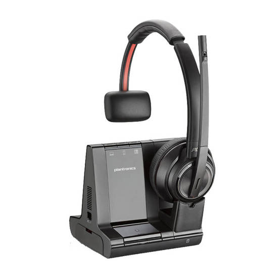 Picture of Plantronics 207309-01 - W8210,SAVI 3IN1,OTH MON,UC,DECT 6.0,NA