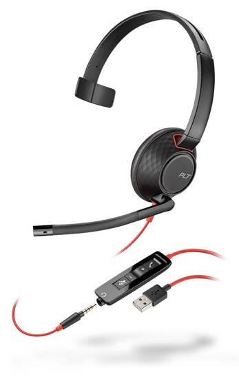 Picture of Plantronics 207577-01 - BLACKWIRE 5210 Headset