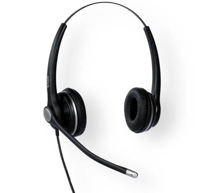 Picture of Snom A100D - A100D Wired Binural Headset with QD RJ9