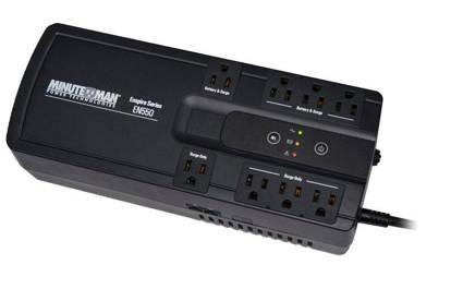 Picture of MINUTEMAN UPS EN550 - ENSPIRE 550VA STAND-BY UPS