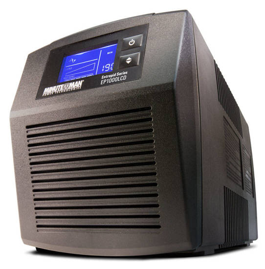 Picture of MINUTEMAN UPS EP500LCD - ENTREPID BATTERY BACKUP 500VA 300W