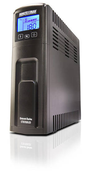 Picture of MINUTEMAN UPS ETR700LCD - Entrust LCD Series UPS 700VA/420W