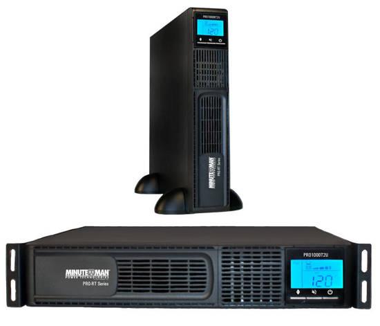 Picture of MINUTEMAN UPS PRO1000RT2U - LINE INTERACTIVE 1000VA 700 WATTS UPS