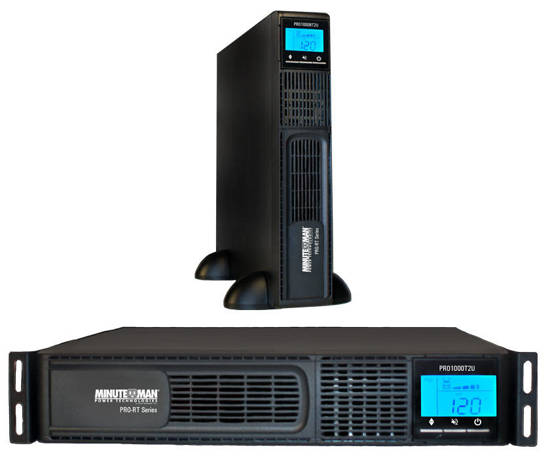 Picture of MINUTEMAN UPS PRO750RT2U - LINE INTERACTIVE 750VA 525 WATTS UPS