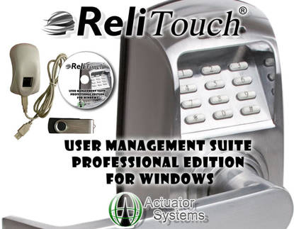 Picture of Actuator Systems UMSPRO-WIN - ReliTouch User Management Suite-Windows