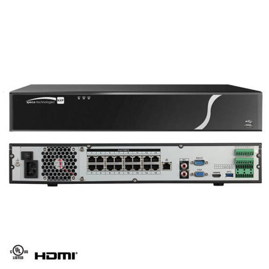 Picture of SPECO SPC-N16NXP8TB - 16 Channel Network 8TB NVR
