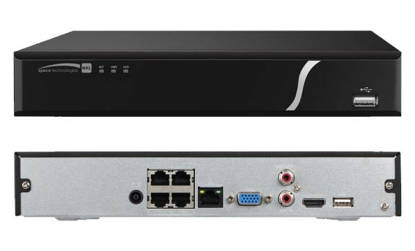 Picture of SPECO SPC-N4NXL4TB - 4 Channel NVS with POE, 4TB