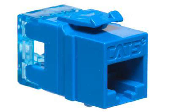 Picture of ICC IC1078F5BL - MODULE, CAT 5e, HD, BLUE