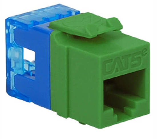 Picture of ICC IC1078F5GN - MODULE, CAT 5e, HD, GREEN