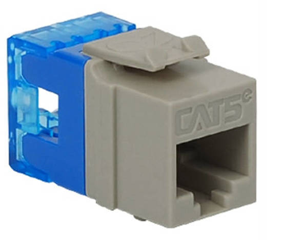 Picture of ICC IC1078F5GY - MODULE, CAT 5e, HD, GRAY