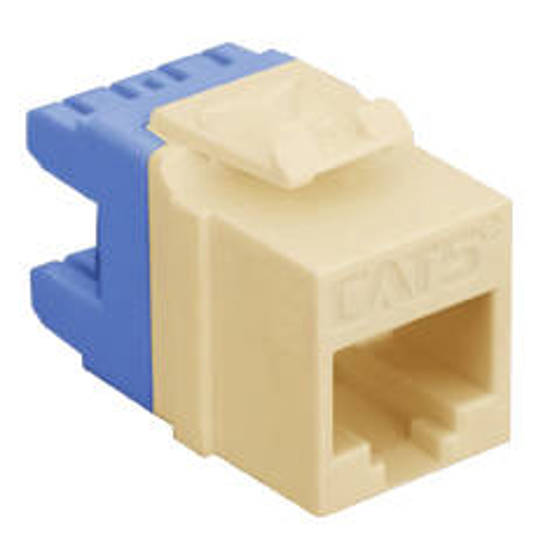 Picture of ICC IC1078F5IV - MODULE, CAT 5e, HD, IVORY
