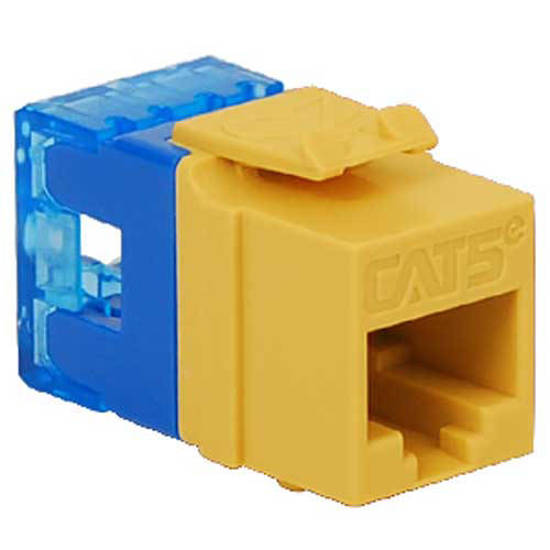 Picture of ICC IC1078F5YL - MODULE, CAT 5e, HD, YELLOW