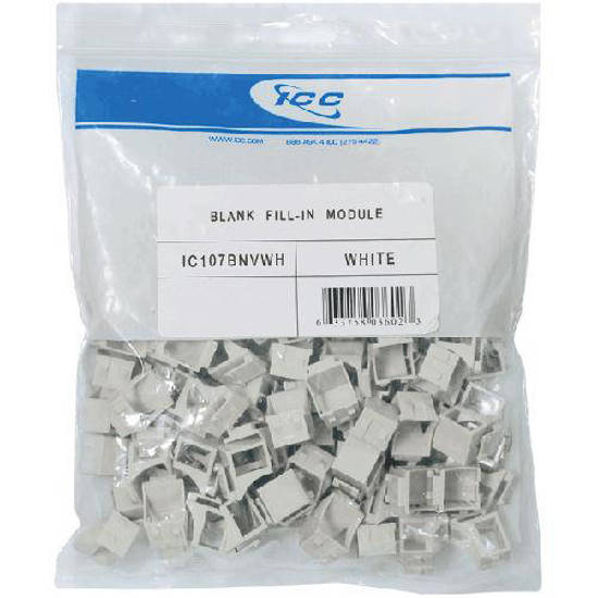 Picture of ICC IC107BNVWH - HD MODULE, BLANK 100 PK, WH