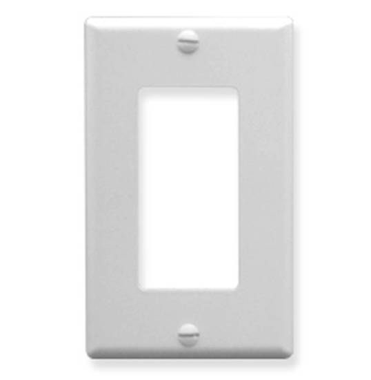 Picture of ICC IC107DFSWH - Decorex Faceplate 1 Gang - White