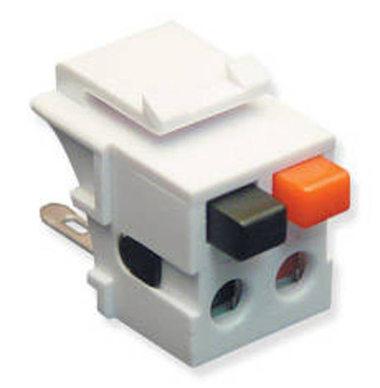Picture of ICC IC107DSCWH - MODULE, SPEAKER, DUAL, WHITE
